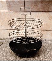 Сетка 2-х уровневая со сковородой