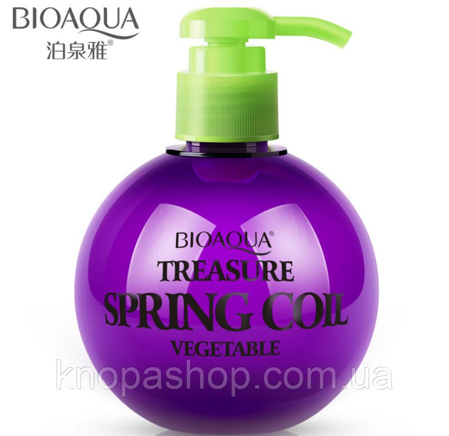 Эластин для укладки волос Bioaqua Treasure Spring Coil Vegetable (250г)