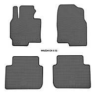 Резиновые автомобильные коврики в салон MAZDA CX-5 2011 мазда сх5 Stingray