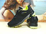 Мужские кроссовки BaaS Marathon - 2 черно-салатовые 46 р., фото 6