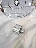 Потолочная лейка для душа круглая D-09, фото 3
