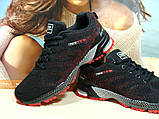 Мужские кроссовки BaaS Marathon - 2 черно-красные 43 р., фото 6