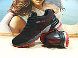 Мужские кроссовки BaaS Marathon - 2 черно-красные 43 р., фото 4