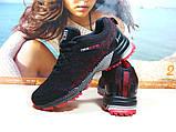 Мужские кроссовки BaaS Marathon - 2 черно-красные 43 р., фото 5