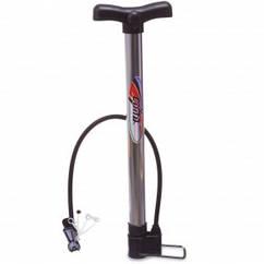 Насос напольный ручной для мячей,велосипедов CIMA CM-P301 (пластик,алюмин,l-42см) Код CM-P301
