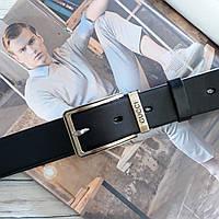 Мужской кожаный ремень Gucci 3.5 см. (реплика)