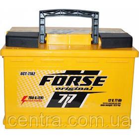 Автомобільний акумулятор FORSE Original (Ista) 6СТ-77 R+ 760A