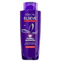 """Тонирующий шампунь Loreal Elseve """"Purple shampoo"""" (200мл.), фото 1"""