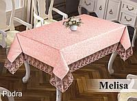 Скатерть  жаккардовая  прямоугольная  160х220  Melisa Pudra, Турция, фото 1