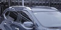 "Рейлинги хром ""оригинал"" металлические наконечники Nissan X-Trail T-32 (ниссан х-трейл 2014+)"