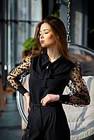 Стильная женская блуза с оригинальным рукавом