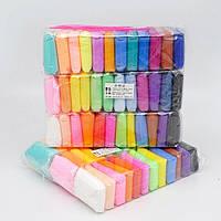 ✅ Масса для лепки самозастывающая 36 цветов набор Super Clay творческий набор