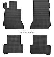 Резиновые автомобильные коврики в салон MERCEDES BENZ W204 C 2007 мерседес 204 Stingray
