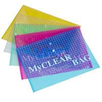 """Папки пластиковые """"My Clear Bag"""" (A4) для документов"""