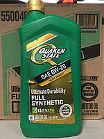 Моторное масло QUAKER STATE® ULTIMATE DURABILITYTM 0w-20, фото 1