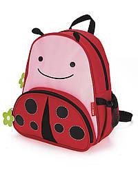 Детский рюкзак Skip Hop Zoo Pack (Zoo Little Kid Backpack) - Ladybug (Божья Коровка), 3+