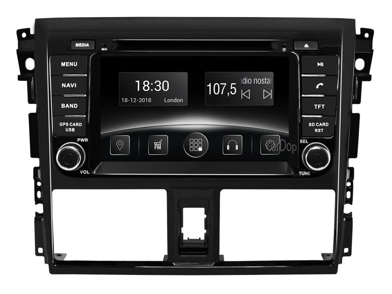 Штатная магнитола Toyota Yaris (P150) 2013-2016 DVD CarPlay