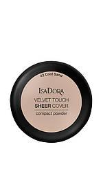 IsaDora Velvet Touch Sheer Cover Пудра Компактна 43 Cool Sand