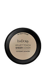 IsaDora Velvet Touch Sheer Cover Пудра Компактна 46 Warm Beige