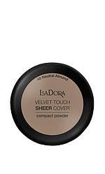 IsaDora Velvet Touch Sheer Cover Пудра Компактна 48 Neutral Almond