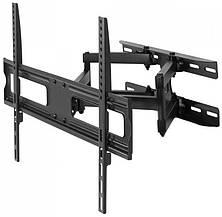Поворотно-похила кронштейн для телевізорів 43-75 діагоналі Maclean MC-762 (max VESA: 600 x 400), фото 3