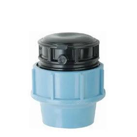 Заглушка пнд 50 для полиэтиленовых труб (Santehplast)