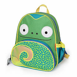 Детский рюкзак Skip Hop Zoo Pack (Zoo Little Kid Backpack) - Chameleon (Хамелеон), 3+