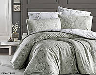 Комплект постельного белья TM First Choice ранфорс Zena Yesil Евро