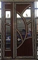 Двери металлопластиковые 1250х2150 мм