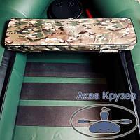 М'яка накладка 710х200х50 мм на сидіння човна, колір камуфляж, фото 1