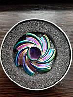 SALE! Необычный металлический спиннер вкоробке,антистрессовая игрушка Fidget Spinner