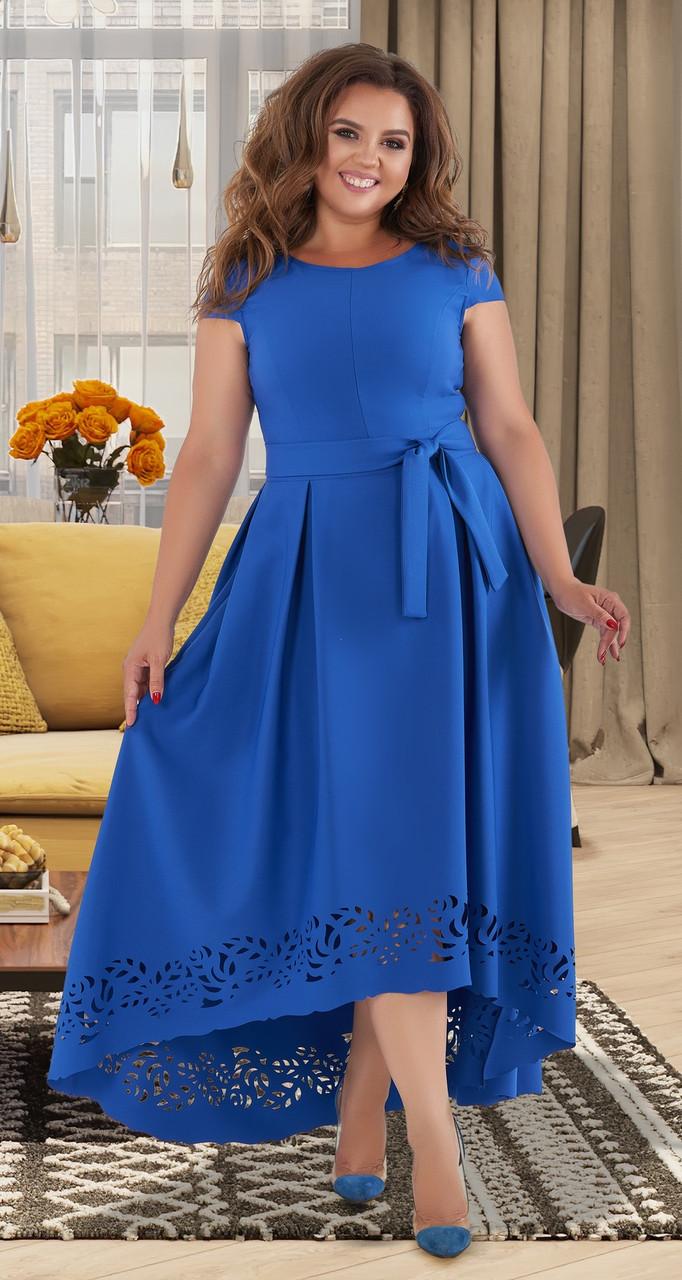 Розкішне вечірнє плаття з перфорацією 50,52,54 р.(4 кольори)