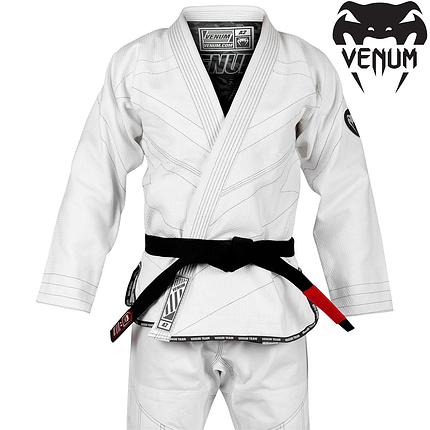 Кимоно для джиу-джитсу Venum Classic 2.0 BJJ Gi White, фото 2