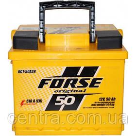 Автомобільний акумулятор FORSE Original (Ista) 6СТ-50 R+ 480A