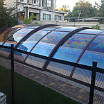 Раздвижной павильон для бассейна Классик