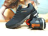 Мужские кроссовки BaaS Marathon - 2 темно-серые 44 р., фото 9