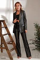 Однобортный женский пиджак XS S M L
