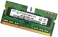 Оперативная память для ноутбука Samsung SODIMM DDR3 4Gb 1333MHz 10600s CL9 (M471B5173BH0-CH9) Б/У, фото 1