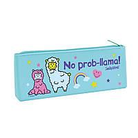 """Пенал школьный силиконовый YES для девочки без наполнения SL-01 """"Smiley World"""""""