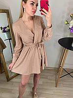 Платье красивое, в горошек, беби долл 42,44,46,48, фото 1