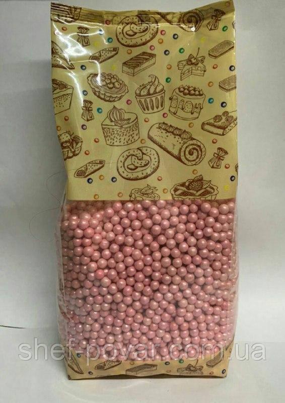 """Кондитерська посипання Перли 1кг """"Рожева"""""""