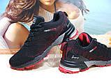 Кроссовки мужские BaaS Marathon - 2 черно-красные 44 р., фото 4