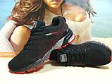 Кроссовки мужские BaaS Marathon - 2 черно-красные 44 р., фото 6