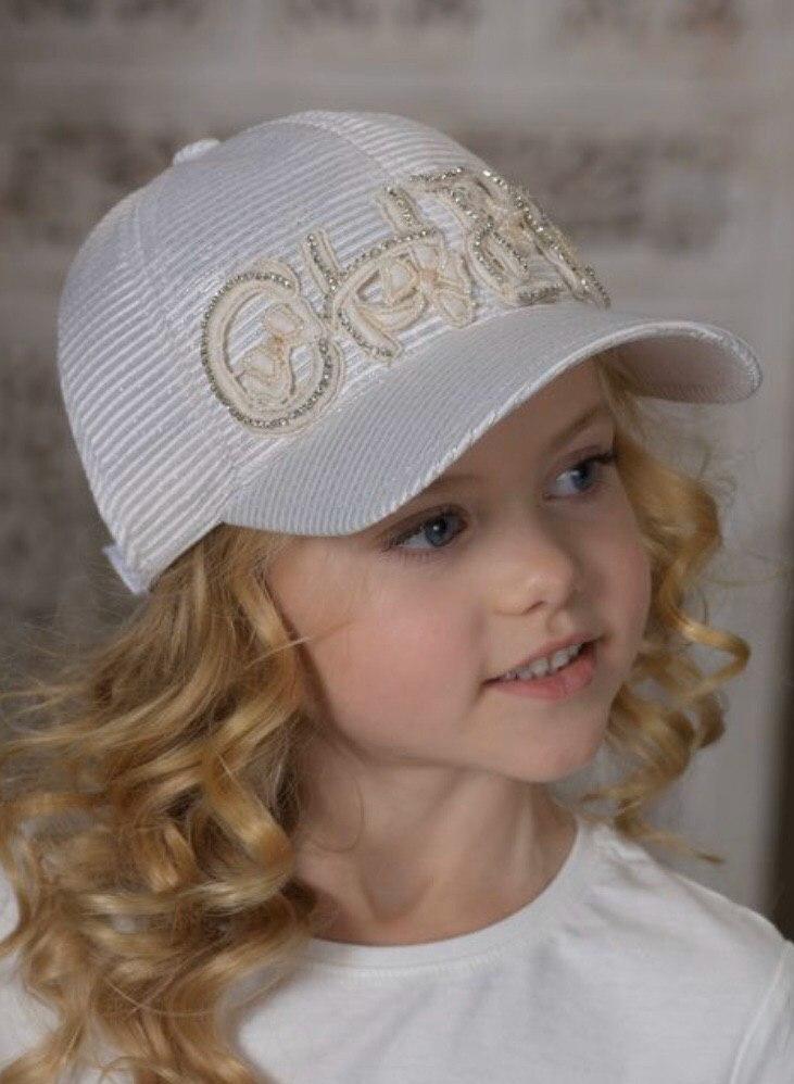 Детская кепка для девочки Dan&Dani Россия 42389R-11/61-52 Бежевый