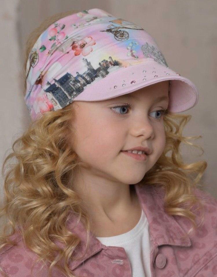 Детская косынка для девочки Dan&Dani Россия 42335F-39-52 Розовый