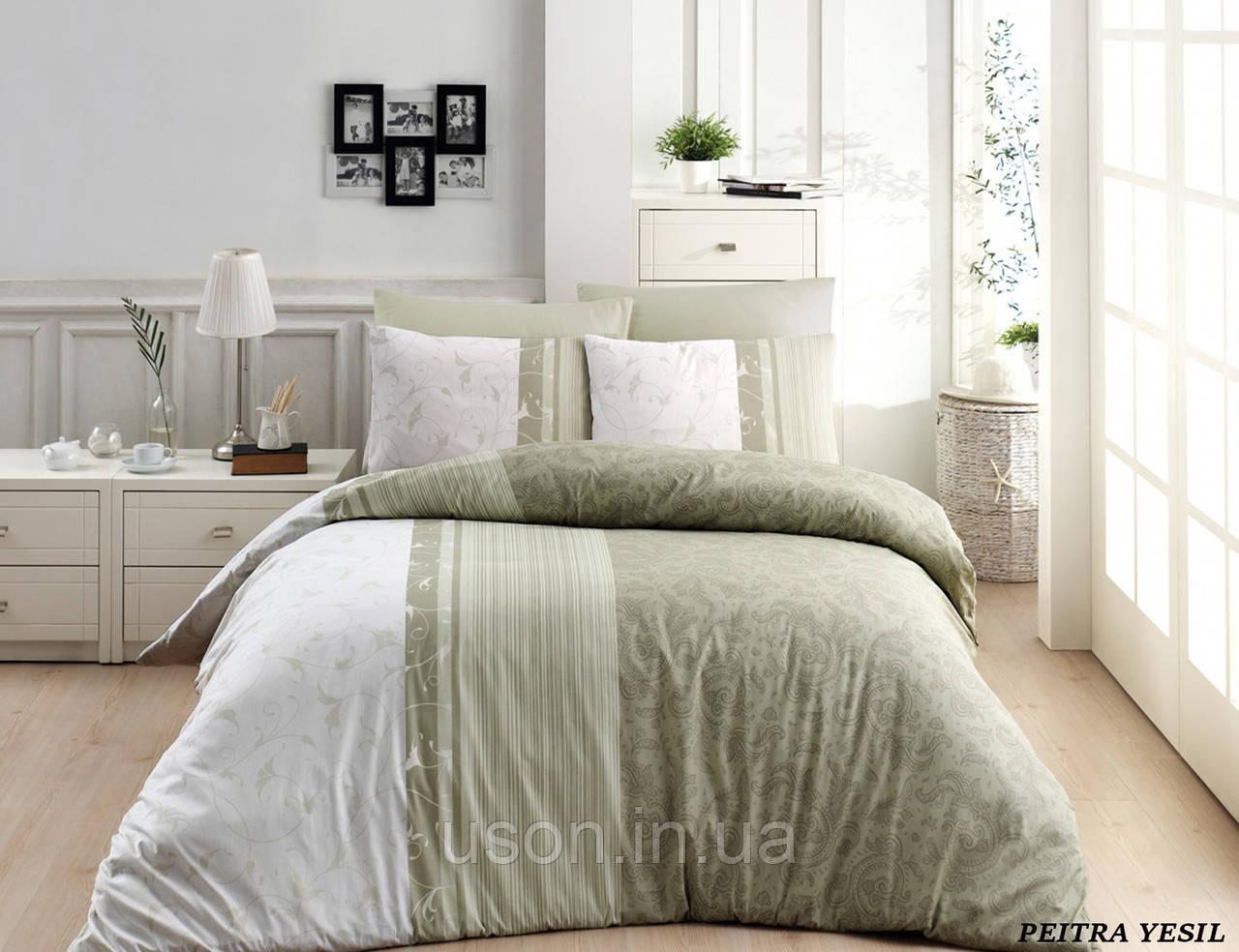 Комплект постельного белья TM First Choice ранфорс Pietra Yesil