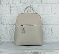 Стильний невеликий рюкзак David Jones 5915-2 сірий (Італія), забарвлення, фото 1