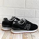 Кроссовки спортивные женские New Balance 574 кросовки весенние, фото 8