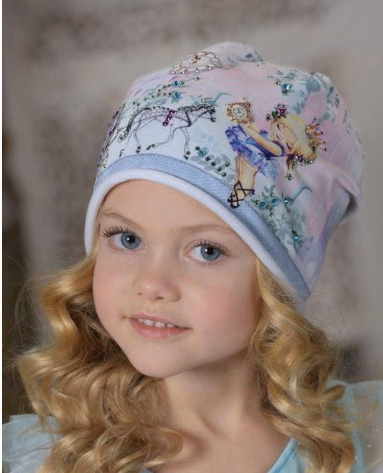 Детская шапка для девочки Dan&Dani Россия 42312F-19-52 Розовый