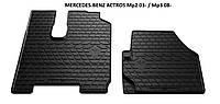 Коврики в авто, автоковрики MERCEDES-BENZ ACTROS Mp3 08- резиновые Stingray